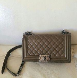 Chanel Le Boy Lambskin Bag
